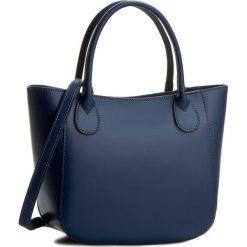 Torebka CREOLE - K10244 Granatowy. Niebieskie torebki klasyczne damskie Creole, ze skóry. W wyprzedaży za 189,00 zł.