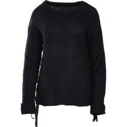 Swetry klasyczne damskie: Czarny Sweter Keeping You