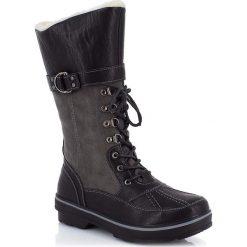 """Buty zimowe damskie: Kozaki """"Maevane"""" w kolorze czarnym"""