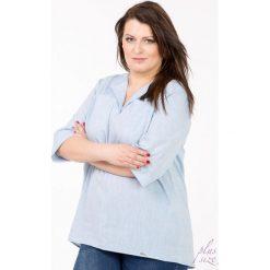 Bluzki asymetryczne: Dłuższa bluzka z kieszeniami Plus