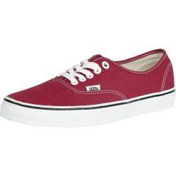 Vans Authentic Buty sportowe czerwony/biały. Białe buty sportowe męskie marki Vans, z gumy, vans authentic. Za 284,90 zł.
