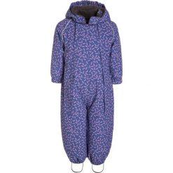 Odzież niemowlęca: mikkline BABY SUIT Kombinezon zimowy blue ice purple