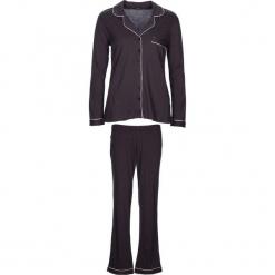 """Piżama """"Classy Dreams"""" w kolorze antracytowym. Białe piżamy damskie marki LASCANA, w koronkowe wzory, z koronki. W wyprzedaży za 136,95 zł."""