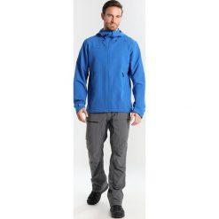 Bergans RAMBERG Kurtka Softshell fjord/dark steel blue. Niebieskie kurtki sportowe męskie Bergans, m, z elastanu. W wyprzedaży za 471,75 zł.