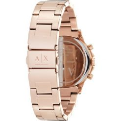 Armani Exchange Zegarek rose goldcoloured. Czerwone, analogowe zegarki damskie Armani Exchange. Za 1049,00 zł.