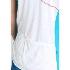 T-shirty damskie: Ziener CARITA  Tshirt z nadrukiem white/blue ocean