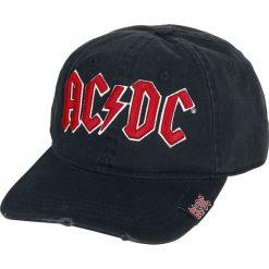 AC/DC Logo Czapka baseballowa czarny. Czarne czapki zimowe damskie AC/DC. Za 79,90 zł.