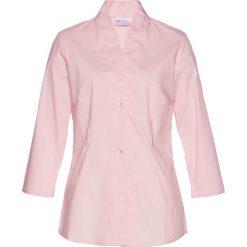 Bluzki damskie: Bluzka ze stójką bonprix pastelowy jasnoróżowy