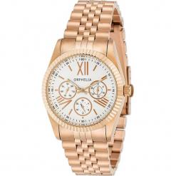 Zegarek kwarcowy w kolorze biało-różowozłotym. Żółte, analogowe zegarki damskie Esprit Watches, ze stali. W wyprzedaży za 272,95 zł.