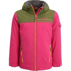 Ziener ANETE  Kurtka narciarska pink blossom rib. Czerwone kurtki dziewczęce Ziener, z materiału, narciarskie. W wyprzedaży za 399,20 zł.