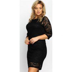Sukienki: Czarna Sukienka Sensual
