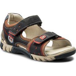 Sandały LASOCKI KIDS - CI12-TRUCK-16 Czerwony Granatowy. Czerwone sandały męskie skórzane marki Lasocki Kids. Za 79,99 zł.