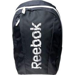 Plecak unisex AB1128 czarny (AB1128). Szare plecaki męskie marki Reebok, l, z dzianiny, z okrągłym kołnierzem. Za 79,59 zł.