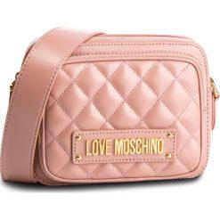 Torebka LOVE MOSCHINO - JC4004PP17LA0600 Rosa. Czerwone listonoszki damskie Love Moschino, ze skóry ekologicznej. Za 719,00 zł.
