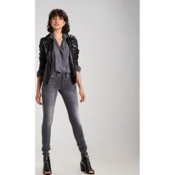 GStar 3301 MID SKINNY Jeans Skinny Fit slander grey superstretch. Szare jeansy damskie relaxed fit marki G-Star, z bawełny. Za 419,00 zł.