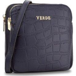 Torebka VERDE - 16-0004348 Navy. Niebieskie torebki klasyczne damskie Verde. Za 109,00 zł.