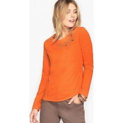 T-shirty damskie: T-shirt z bawełny czesankowej