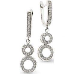 Biżuteria i zegarki: Kolczyki Srebrne – srebro 925, Cyrkonia