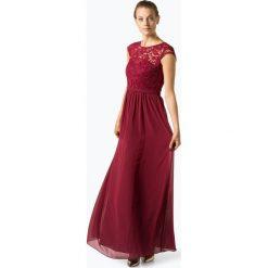 Marie Lund - Damska sukienka wieczorowa, czerwony. Czerwone sukienki balowe Marie Lund, z haftami, z szyfonu. Za 749,95 zł.