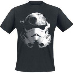 T-shirty męskie z nadrukiem: Star Wars Stormtrooper – Deathstar T-Shirt czarny