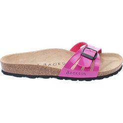 Buty damskie: Klapki w kolorze różowym