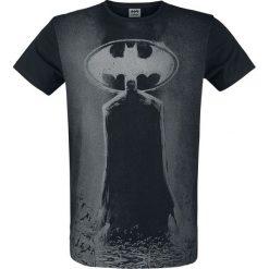 T-shirty męskie z nadrukiem: Batman Silhouette T-Shirt czarny