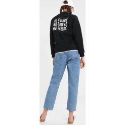 Bluzy damskie: Obey Clothing LIBBY HALF ZIP Bluza black