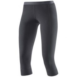 Devold Spodnie Damskie Hiking Woman 3/4 Long Johns Black S. Czarne bryczesy damskie marki Devold, s, ze skóry, outdoorowe. W wyprzedaży za 209,00 zł.