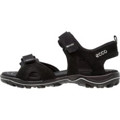 Ecco URBAN SAFARI KIDS Sandały trekkingowe black. Czarne sandały męskie skórzane ecco. Za 349,00 zł.