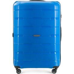 Walizka duża 56-3T-723-95. Niebieskie walizki marki Wittchen, z gumy, duże. Za 249,00 zł.