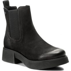 Botki LASOCKI - ATA-01 Czarny. Czarne botki damskie na obcasie marki Lasocki, ze skóry. Za 229,99 zł.