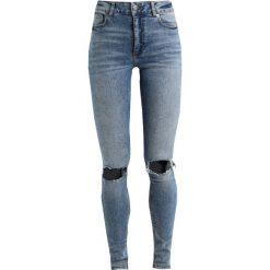 Cheap Monday HIGH SKIN Jeans Skinny Fit shift blue. Niebieskie boyfriendy damskie Cheap Monday. Za 249,00 zł.