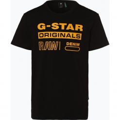 G-Star - T-shirt męski, czarny. Szare t-shirty męskie z nadrukiem marki G-Star. Za 149,95 zł.