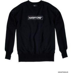 Bluza Męska CREWNECK OVER-ARM HARPTONE. Czarne bluzy męskie rozpinane Pakamera, m, z długim rękawem, długie. Za 199,00 zł.