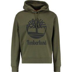 Bluzy męskie: Timberland LOGO OLIVE NIGHT Bluza olive night