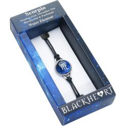 Blackheart Sternzeichen Skorpion Bransoletka niebieski. Niebieskie bransoletki damskie sznurkowe Blackheart. Za 42,90 zł.