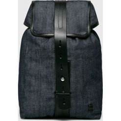 G-Star Raw - Plecak. Czarne plecaki damskie G-Star RAW, z bawełny, retro. W wyprzedaży za 429,90 zł.