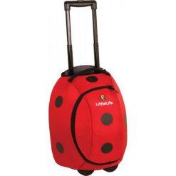Walizki: Littlelife Walizka Dziecięca Animal Wheelie Duffle - Ladybird
