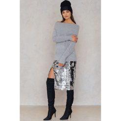 Swetry oversize damskie: Rut&Circle Sweter Vera – Grey