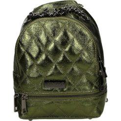 Plecak - 4-107-M L-T V. Czarne plecaki damskie marki Venezia, ze skóry. Za 159,00 zł.