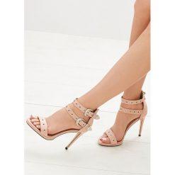 Różowe Sandały French Kiss. Czerwone sandały damskie vices, na wysokim obcasie. Za 89,99 zł.