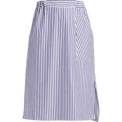 Spódniczki trapezowe: Amorph Berlin SKIRT Spódnica trapezowa dark blue