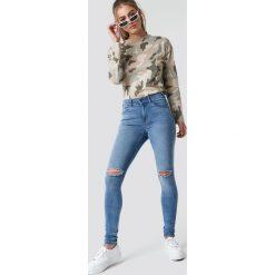 Spodnie damskie: Dr Denim Jeansy Lexy - Blue
