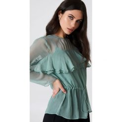Bluzki asymetryczne: Second Female Bluzka Ascalon - Green