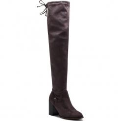 Muszkieterki BIG STAR - BB274530 Grey. Szare buty zimowe damskie marki BIG STAR, z materiału. W wyprzedaży za 179,00 zł.