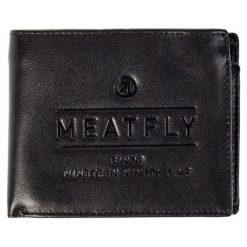 Portfele męskie: Meatfly Portfel Męski Czarny Seaway