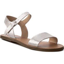 Sandały damskie: Sandały STEVE MADDEN – Kondi Sandal 91000358-0S0-10001-14015 Dusty Silver