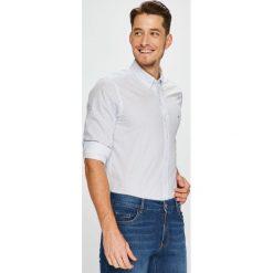 Tommy Hilfiger - Koszula. Szare koszule męskie na spinki TOMMY HILFIGER, l, z bawełny, button down, z długim rękawem. W wyprzedaży za 279,90 zł.