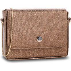 Torebka MONNARI - BAG0640-023 Gold. Brązowe torebki klasyczne damskie Monnari, ze skóry ekologicznej. W wyprzedaży za 129,00 zł.