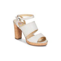 Sandały Geox  MAUVELLE A. Białe sandały damskie Geox. Za 407,20 zł.